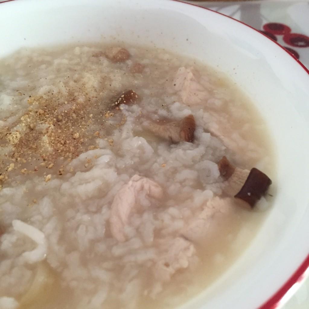 thealmosthousewife chicken porridge