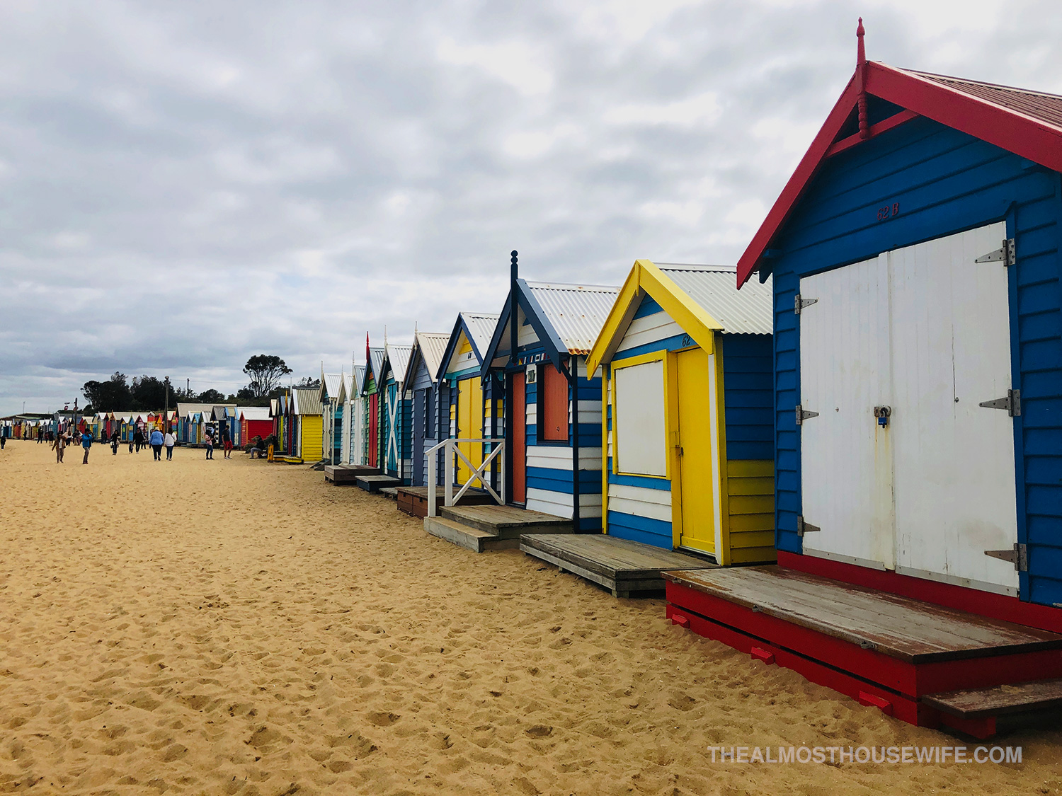 Melbourne – Cold beach strolls and wet city walks in Spring.