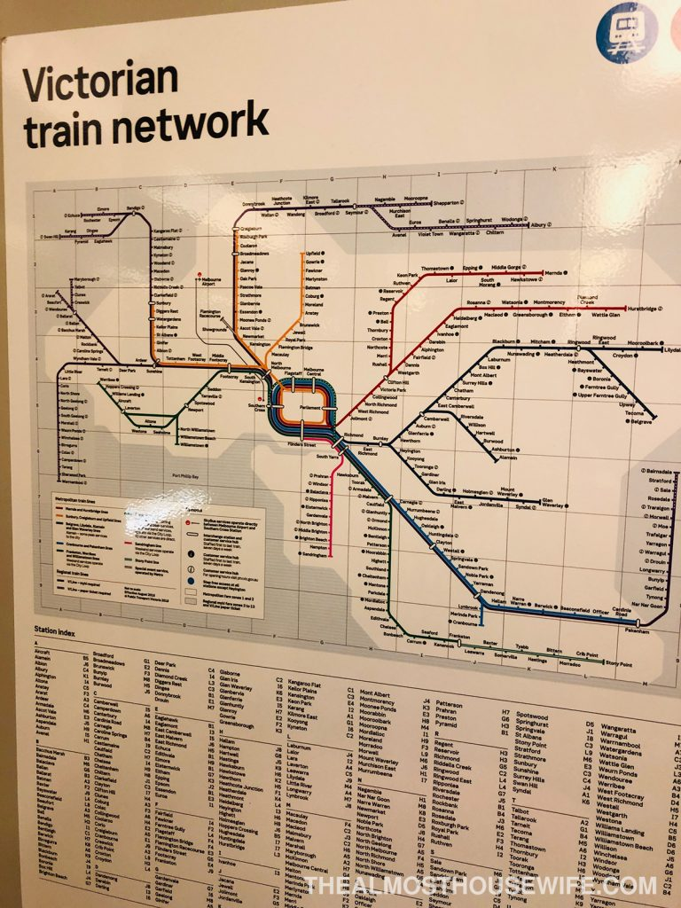VIC train network