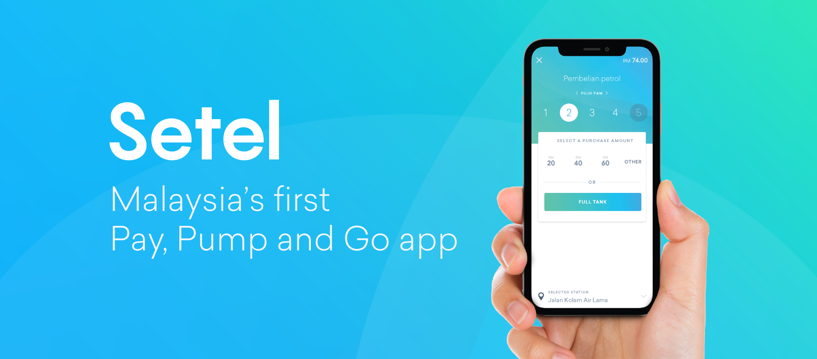 Beat the queue with Setel, Malaysia's first Pay, Pump and Go app