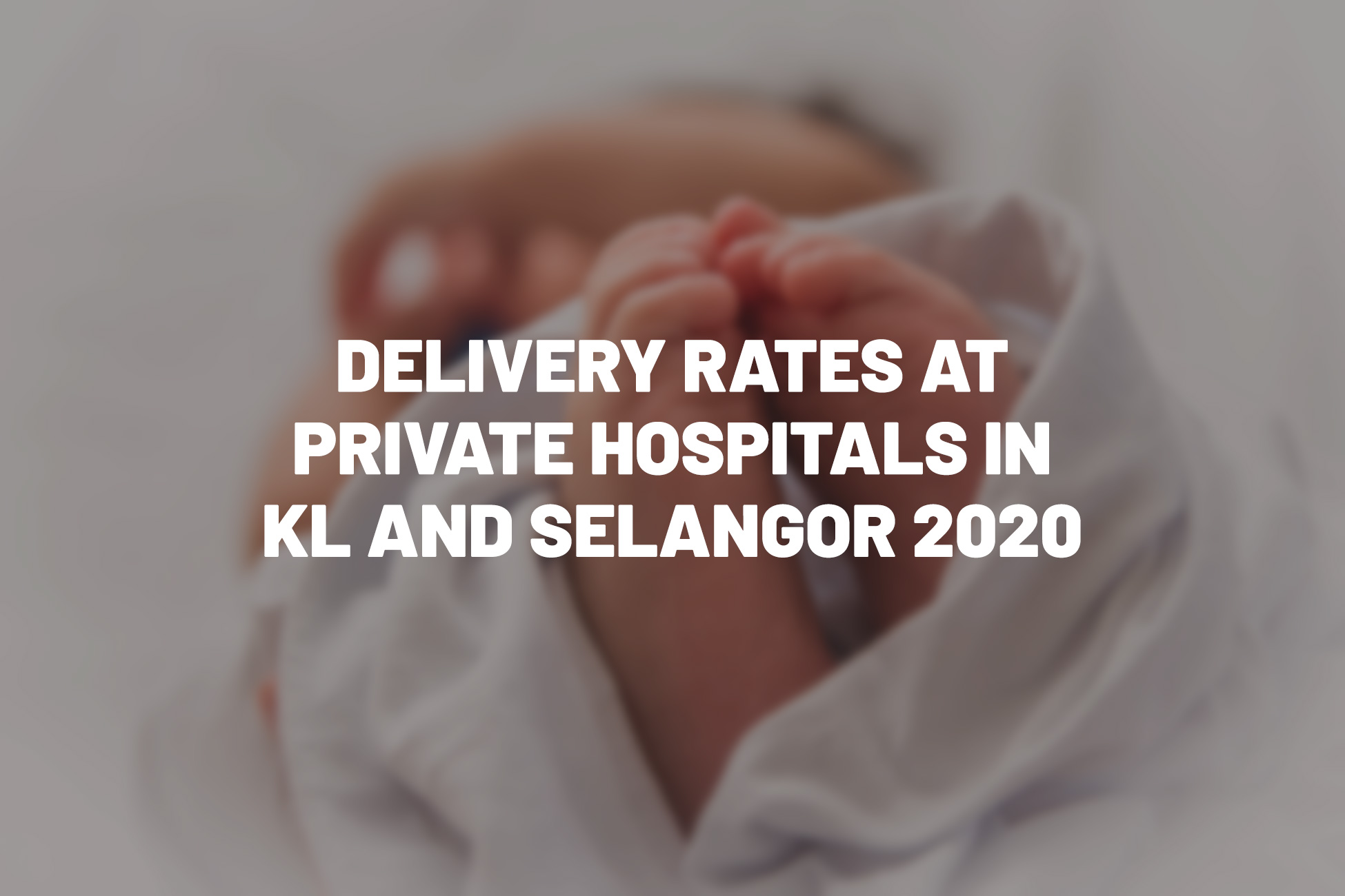 Delivery Rates at Private Hospitals in KL and Selangor 2020